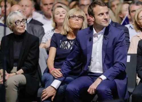 法国总统马克龙的父母 法国39岁总统候选人马克龙