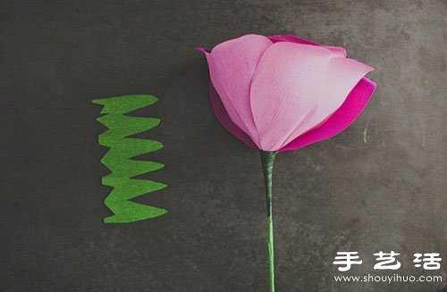 简单手工制作玫瑰花 手工制作玫瑰花图解