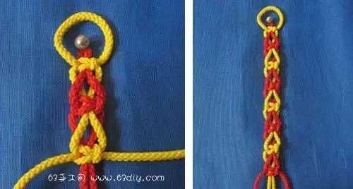 編繩子的編法圖解 9種四股繩的編法圖解