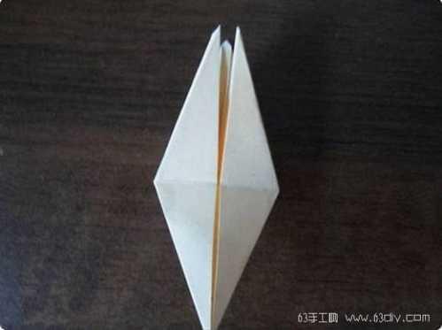 简单玫瑰花的折法 玫瑰花折纸图解