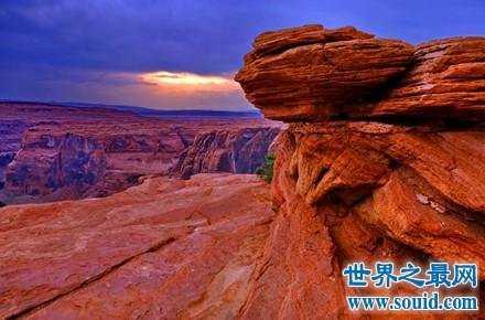 世界上最著名的自然景点科罗拉多大峡谷 科罗拉多大峡谷位置
