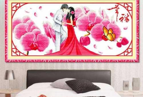 卧室挂什么十字绣好看 十字绣卧室图案