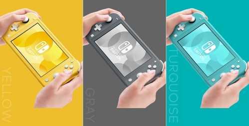 任天堂Switch Lite正式发布 19980日元