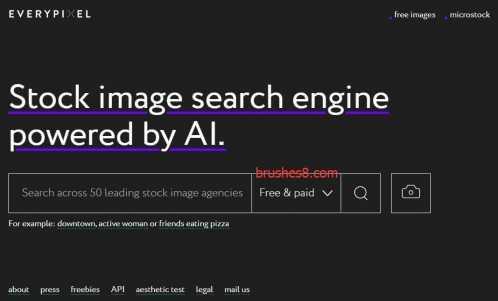集合50个图库的一站式搜索引擎 50图片库图片