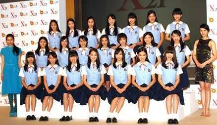 国民美少女X21组合得武井D支持 国民美少女组合