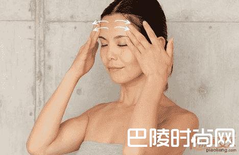 按摩4步帮你消除 怎样去除眉间纹
