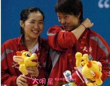 乒乓球员李楠个人资料照片 李楠乒乓球
