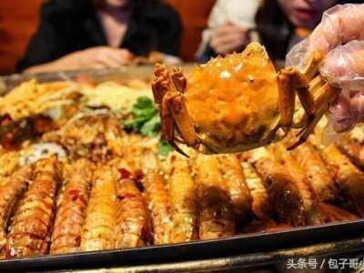 终于吃上了海鲜大咖 各种海鲜的吃法