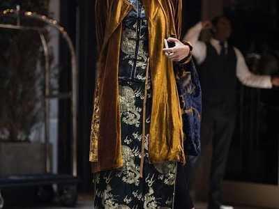 外国人演绎的中国风居然也可以这么美 外国人穿中国风衣服