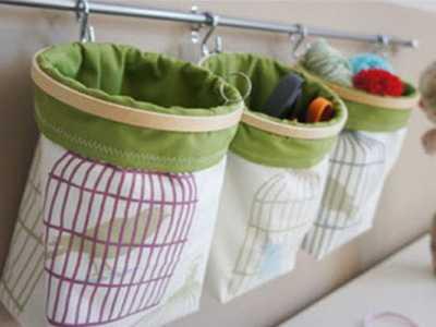 衣服收纳袋—利用旧衣服自制收纳袋 收纳袋制作