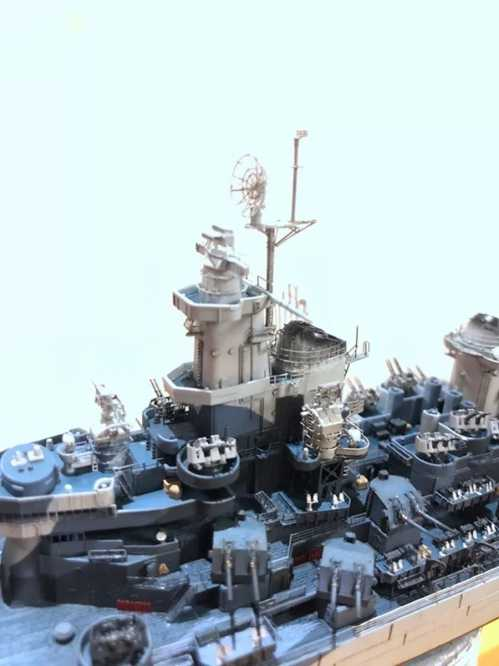 模型作品 密苏里号战列舰