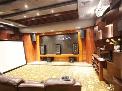 典雅的空间环境James7.2.4全景声家庭影院设计方案 家庭影院声学设计