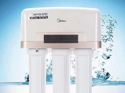只需要四步就搞定 美的净水器安装