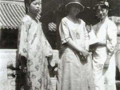 藏族老照片&晚清珍贵老照片 藏族公主