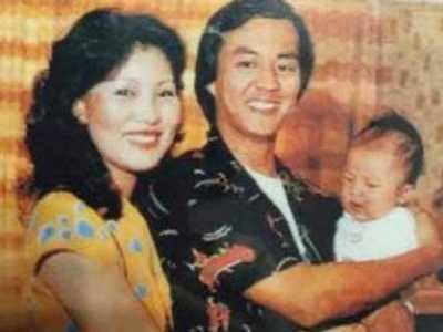 狄龙老婆陶敏明年轻时照片- 狄龙各年龄段照片