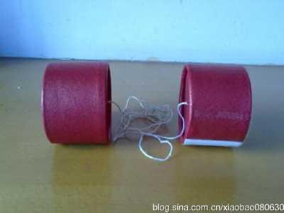 幼儿园亲子科技小制作传声筒 幼儿园小制作