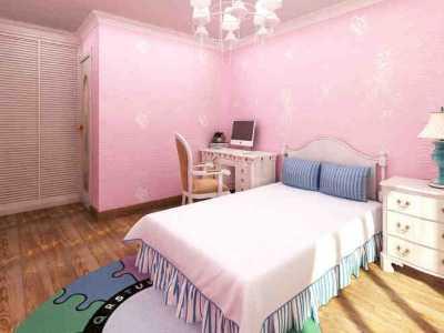 淡粉色系女生房间墙面漆和地板颜色搭配风水 乳胶漆颜色风水
