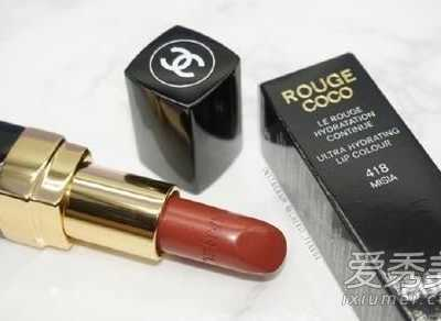 香奈儿口红418是什么颜色 香奈儿口红什麼颜色