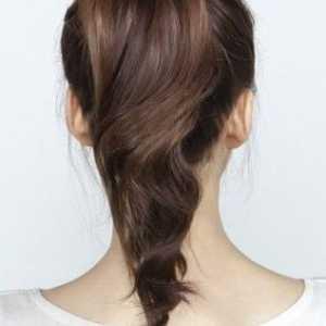 两种扎法打造同一种时尚 花苞头的扎法图解