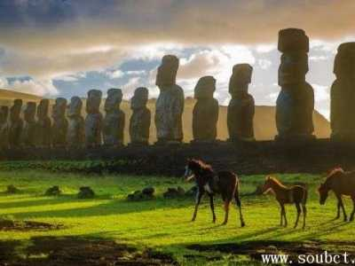 世界上最神秘的地方 复活节岛石像之谜