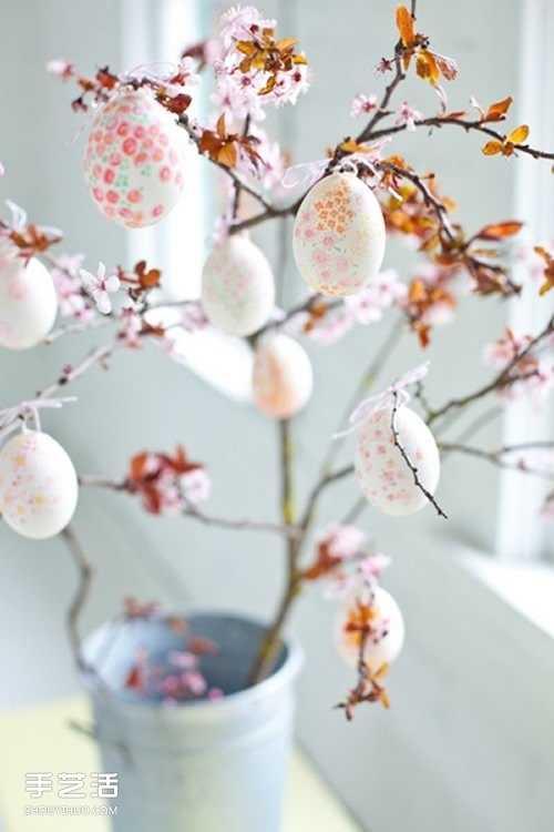 漂亮的彩蛋装饰品制作 diy饰品图片