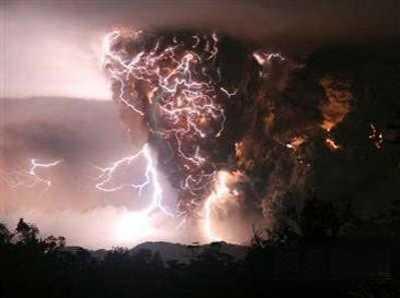 世界八大最危险的火山 智利火山爆发